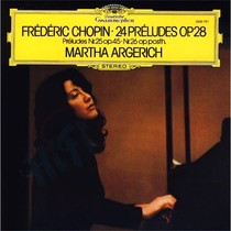 Виниловая пластинка Clearaudio Martha Argerich: Frederic Chopin - 24 Preludes Op. 28; Preludes Nr. 25 Op. 45; Nr. 26 Op. Posth