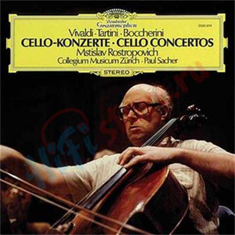 Clearaudio MSTISLAV ROSTROPOVICH, PAUL SACHER: VIVALDI - TARTINI - BOCCHERINI, CELLO-KONZERTE   - купить виниловую пластинку Clearaudio в HI-FI Store, цена, характеристики, фото.