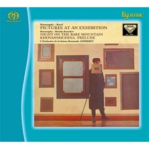 CD/SACD Диск Esoteric Modest Mussorgsky: Pictures at an Exhibition