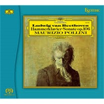 "Гибридный SACD диск Esoteric Beethoven: Piano Sonatas No. 28 in A major, Op. 101; No. 29 in B flat major, Op. 106 ""Hammerklavier"""