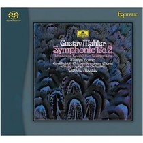 "Гибридный SACD/CD диск Esoteric Mahler: Symphony No. 4 in G; Symphony No. 2 in C minor ""Resurrection"""