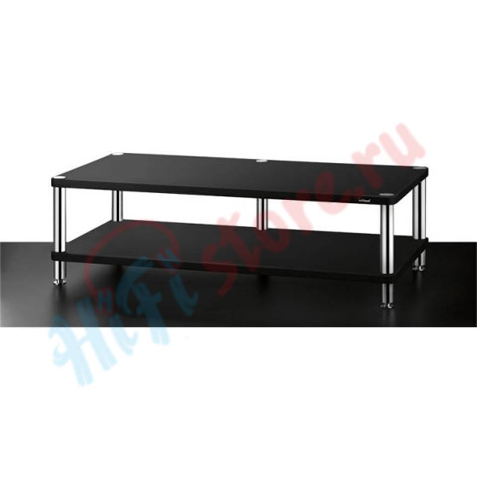 Solidsteel HYPERSPIKE HW-2L Gloss Black  - купить av-стойку Solidsteel в HI-FI Store, цена, характеристики, фото.