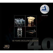 CD/SACD Диск Clearaudio 40 Years Excellence Edition HQCD (cd/sacd)
