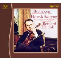 Гибридный SACD диск Esoteric Ludwig van Beethoven: Violin Concerto in D major, Op. 61;  Violin Romance No.1 & 2