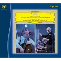 Гибридный SACD диск Esoteric Pierre Fournier, Friedrich Gulda: Antonin Dvorak - Cello Concerto in B minor, Op. 104; Ludwig van Beethoven - Sonata for Piano and Violoncello in A major, Op. 69