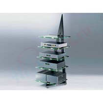 Hi-Fi стойка Schroers & Schroers Alphastatic (Clearglass Shelves)