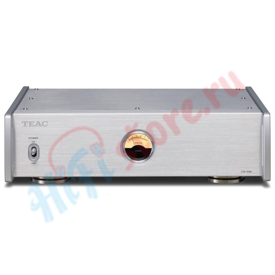 TEAC CG-10M-A Silver  - купить кварцевый генератор TEAC в HI-FI Store, цена, характеристики, фото.